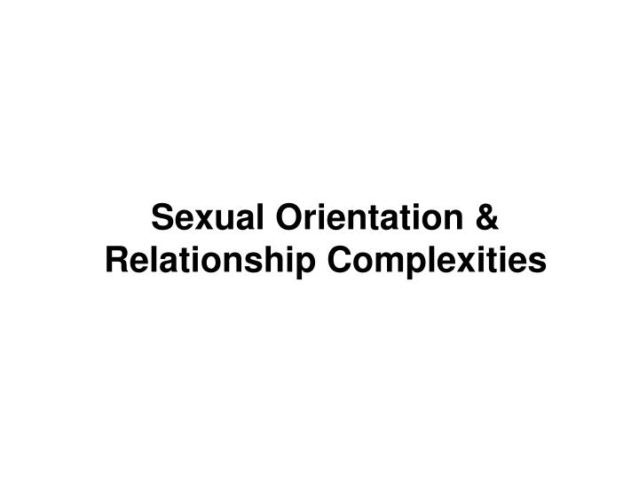 the role of sexual orientation in wildes plays Rather than asking whether or not sexual orientations are biological, the more salient question is what role biology plays in the development of sexual orientations biology would still be a factor in sexual orientation if there are multiple pathways to the development of a particular sexual orientation.