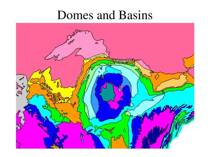 Domes and Basins
