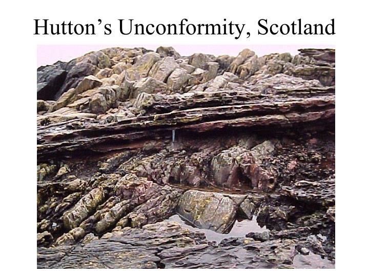 Hutton's Unconformity, Scotland