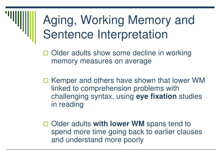 memory span and word complexity The main negatives of this approach are additional complexity and larger size of memory instances    iownedmemory ownedmemory is a wrapper over actual memory buffers.