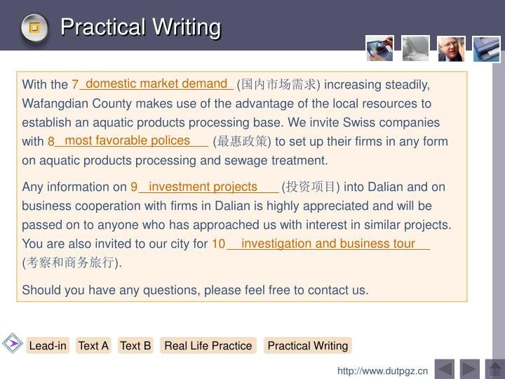 Practical Writing