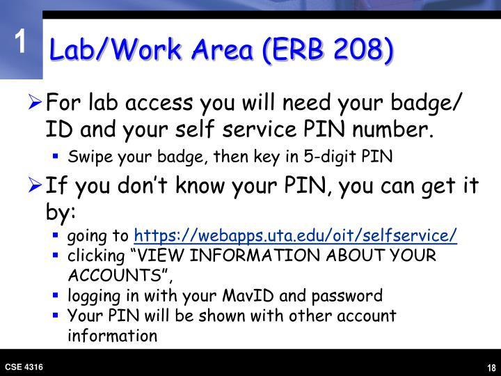 Lab/Work