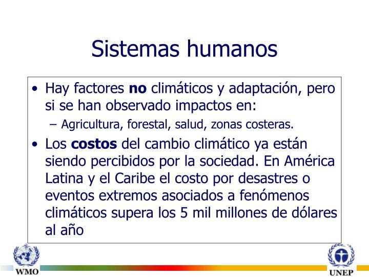 Sistemas humanos