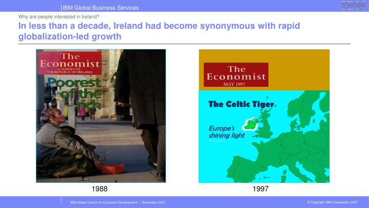 The Celtic Tiger