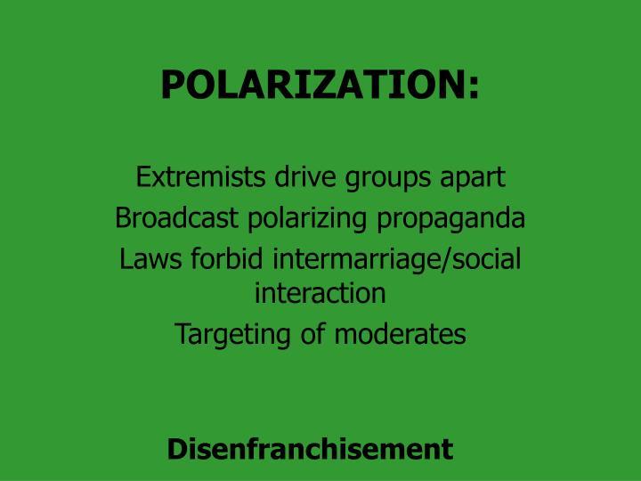 POLARIZATION:
