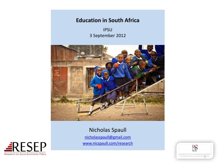 education and inequality the south african In south africa public spending on education is 64% of gdp the average share in eu countries is 48% more important than money are a lack of accountability and the abysmal quality of most teachers.