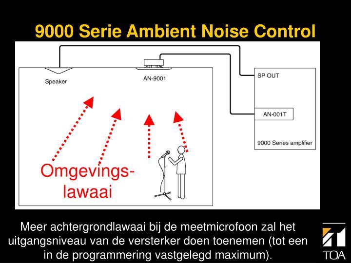 9000 Serie Ambient Noise Control