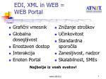 edi xml in web web portal