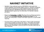 navinet initiative