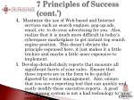 7 principles of success cont2