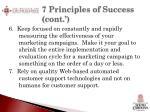 7 principles of success cont3