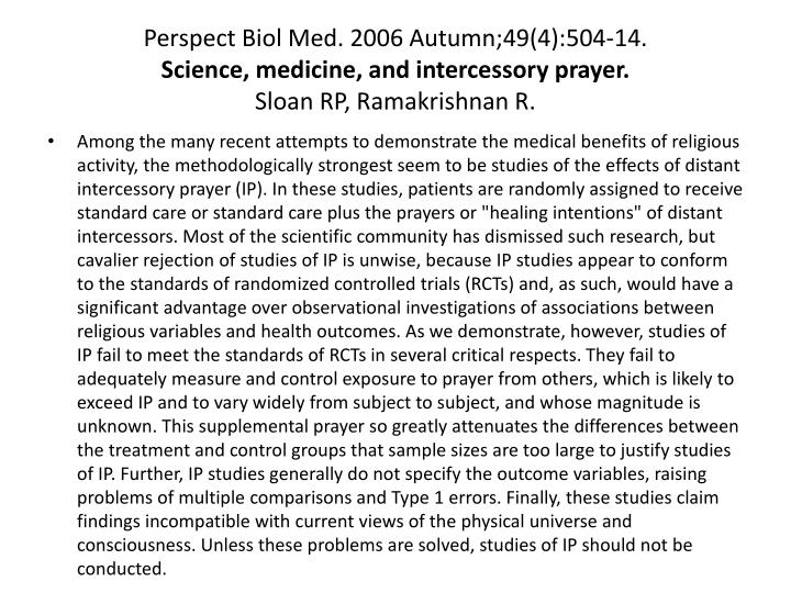 Perspect Biol Med. 2006 Autumn;49(4):504-14.