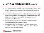 ltcha regulations cont d2