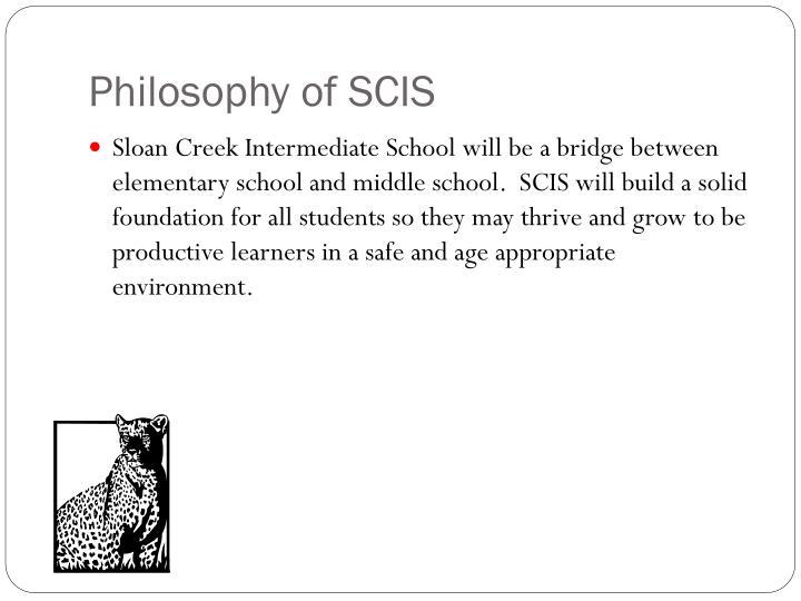Philosophy of scis