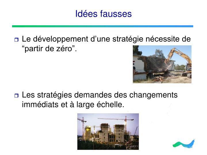 Idées fausses