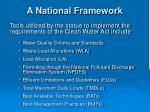 a national framework3