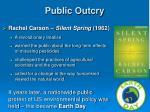 public outcry