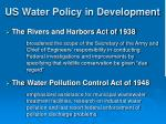 us water policy in development1