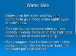 water use2