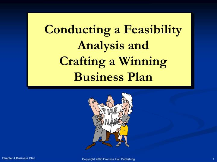 conducting a feasibility analysis and crafting a winning business plan n.