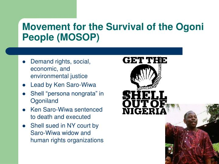 Demand rights, social, economic, and environmental justice