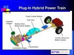 plug in hybrid power train