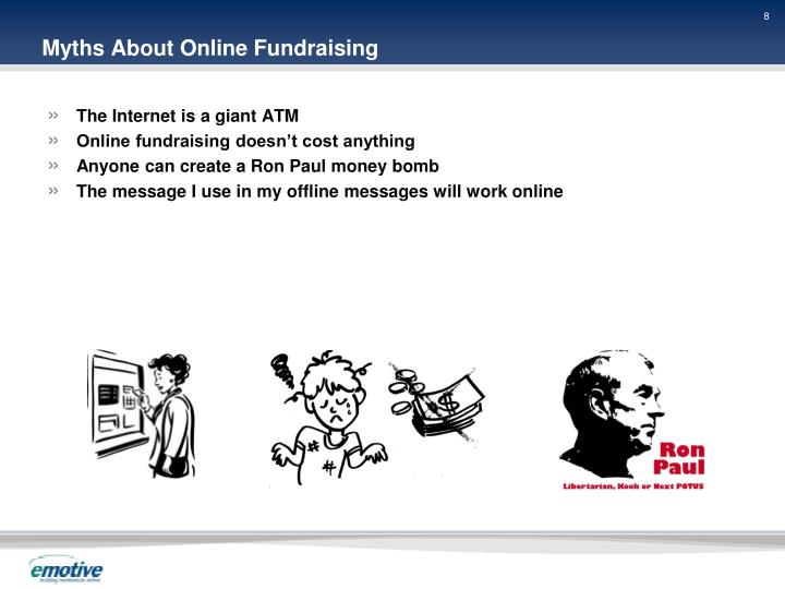 Myths About Online Fundraising