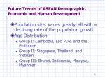 future trends of asean demographic economic and human development2