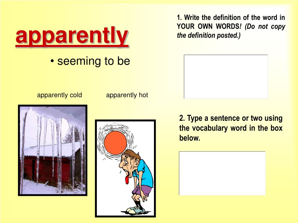 PPT - The Down Up Fall Interactive Vocabulary PowerPoint