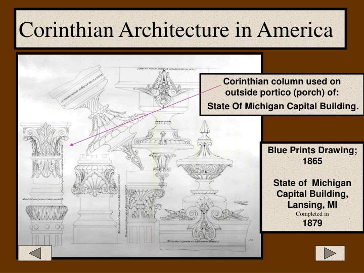 Corinthian Architecture in America