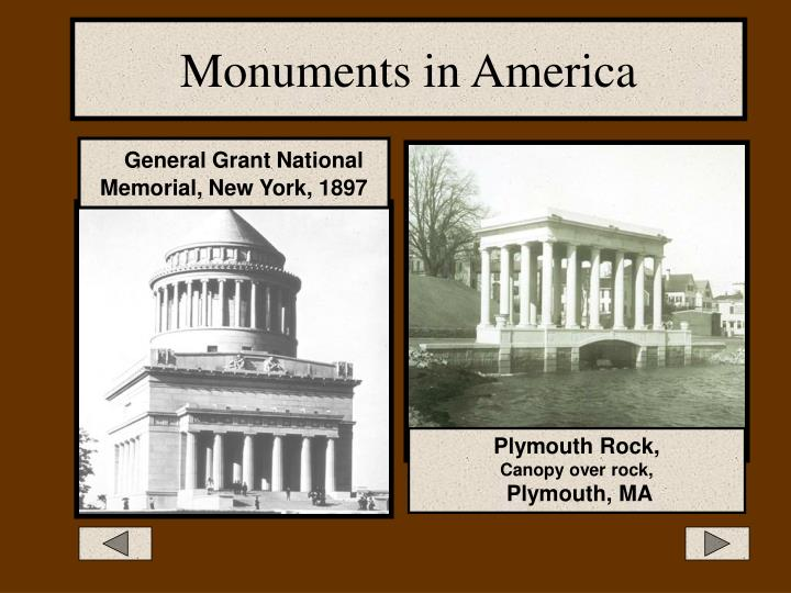 Monuments in America
