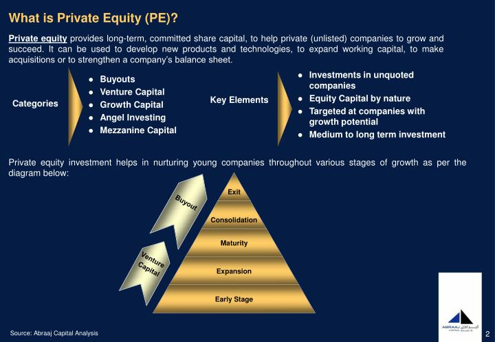 What is Private Equity (PE)?