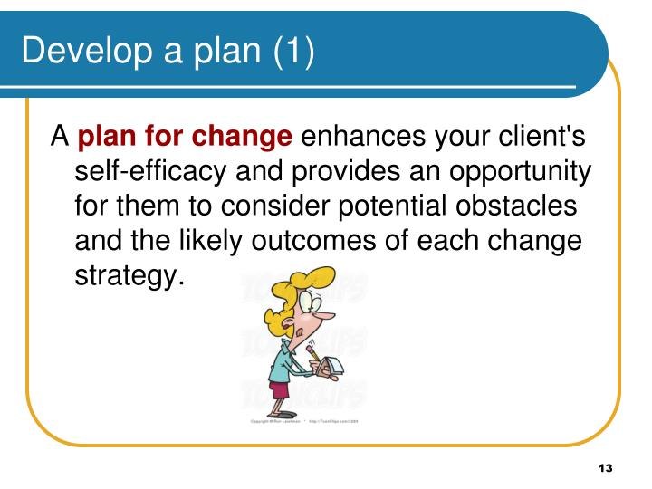 Develop a plan (1)