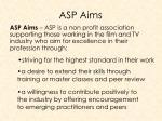 asp aims