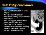 safe entry procedures2