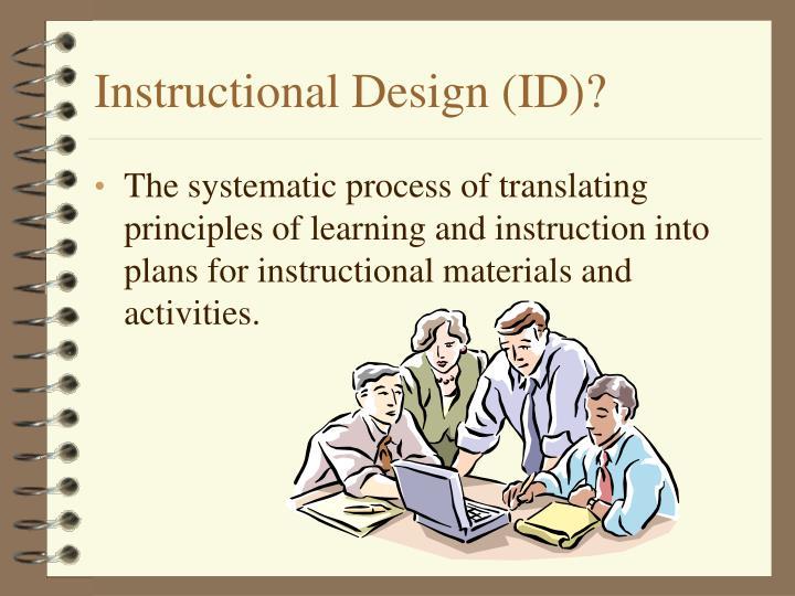 Instructional design id