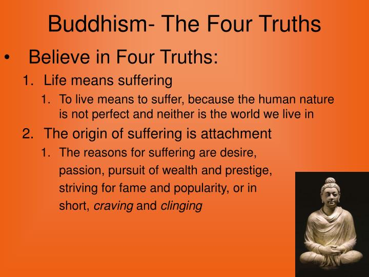Buddhism the four truths