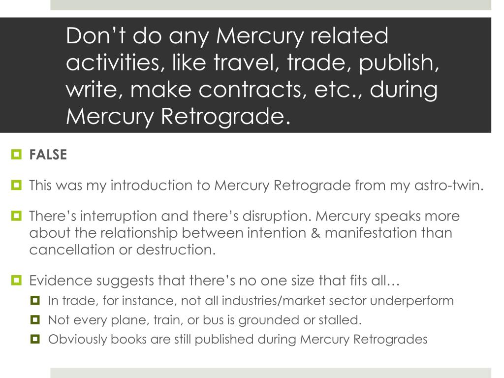 PPT - Are Void Moons & Mercury Retrogrades all that bad? PowerPoint