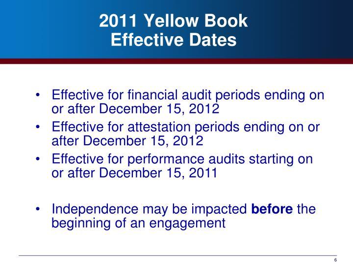 2011 Yellow Book