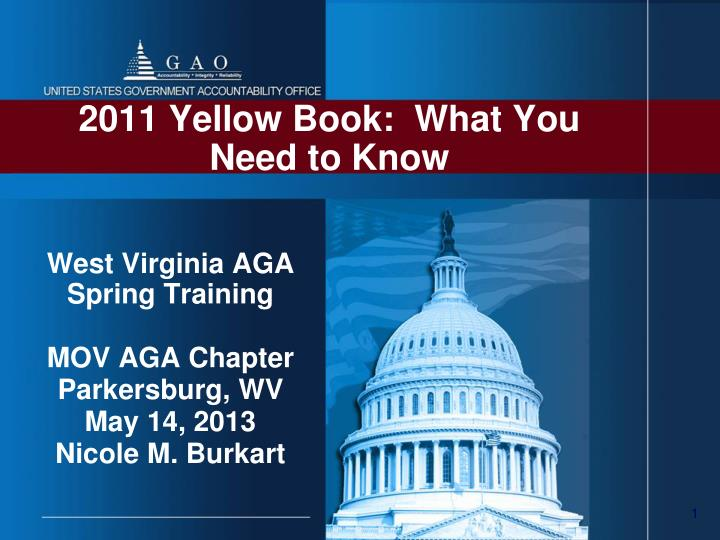2011 yellow book what you need to know
