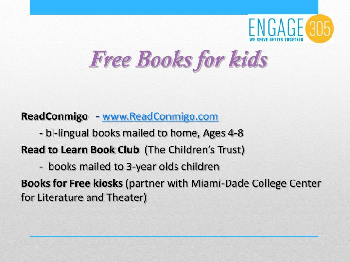 Free Books for