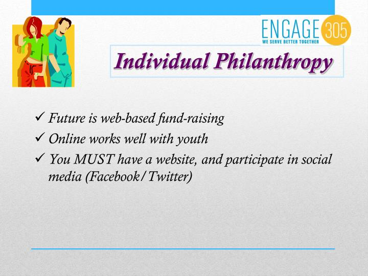 Individual Philanthropy