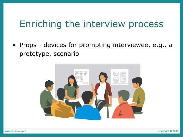 Enriching the interview process