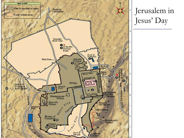 Jerusalem in jesus day