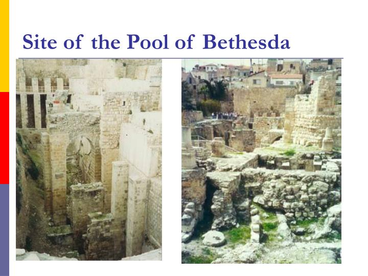 Site of the Pool of Bethesda