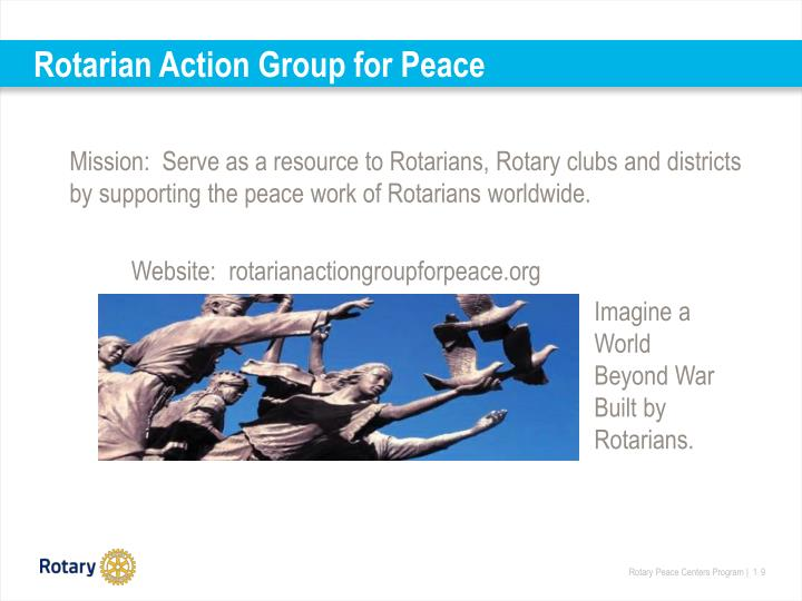 Rotarian Action Group for Peace