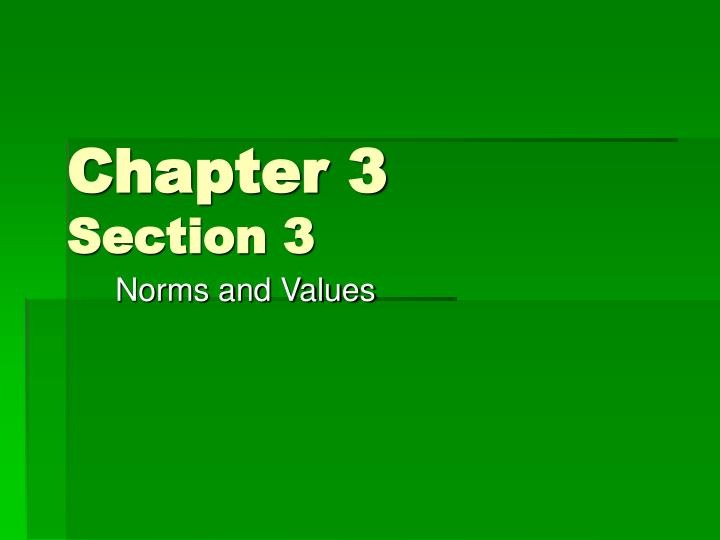 chapter 3 section 3 n.