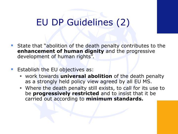 EU DP Guidelines (2)