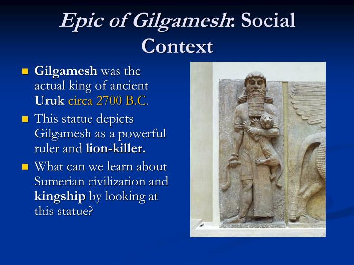 analysis of the epic of gilgamesh essay The epic of gilgamesh and the hebrew bible the epic of gilgamesh and the hebrew bible a+ pages:6 words:  we will write a custom essay sample on the epic of gilgamesh and the hebrew bible specifically for you  in the epic of gilgamesh, the flood is a tool for punishment.