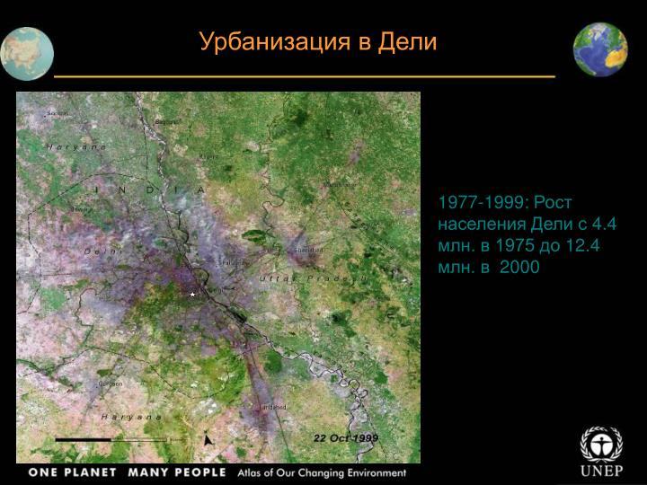 Урбанизация в Дели